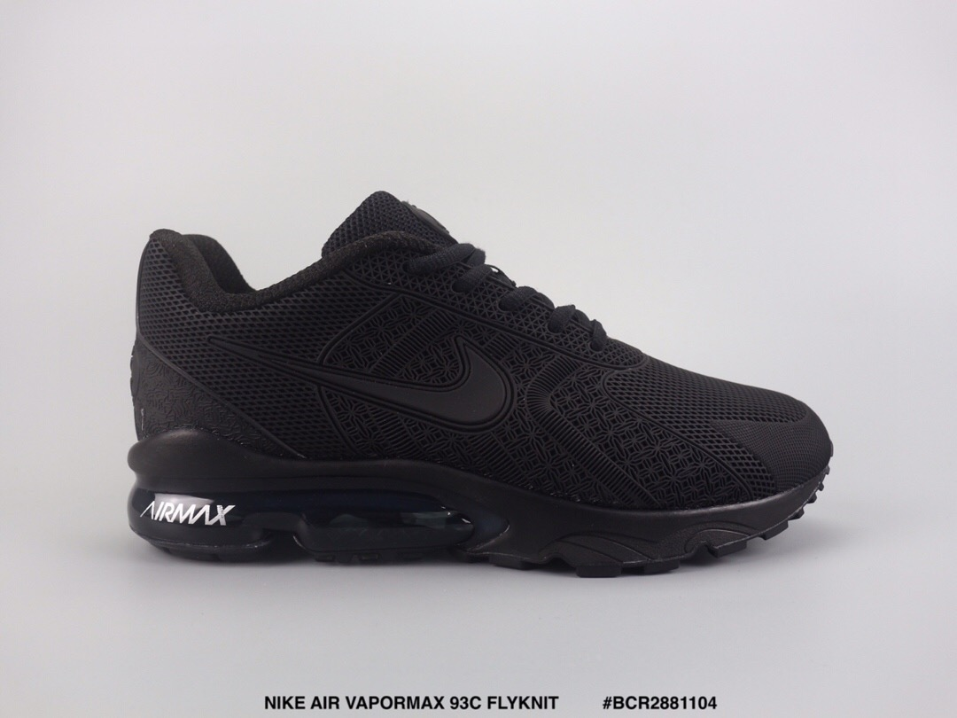 Nike Air Max VaporMax 93c Flyknit Grey Cool Black Shoes