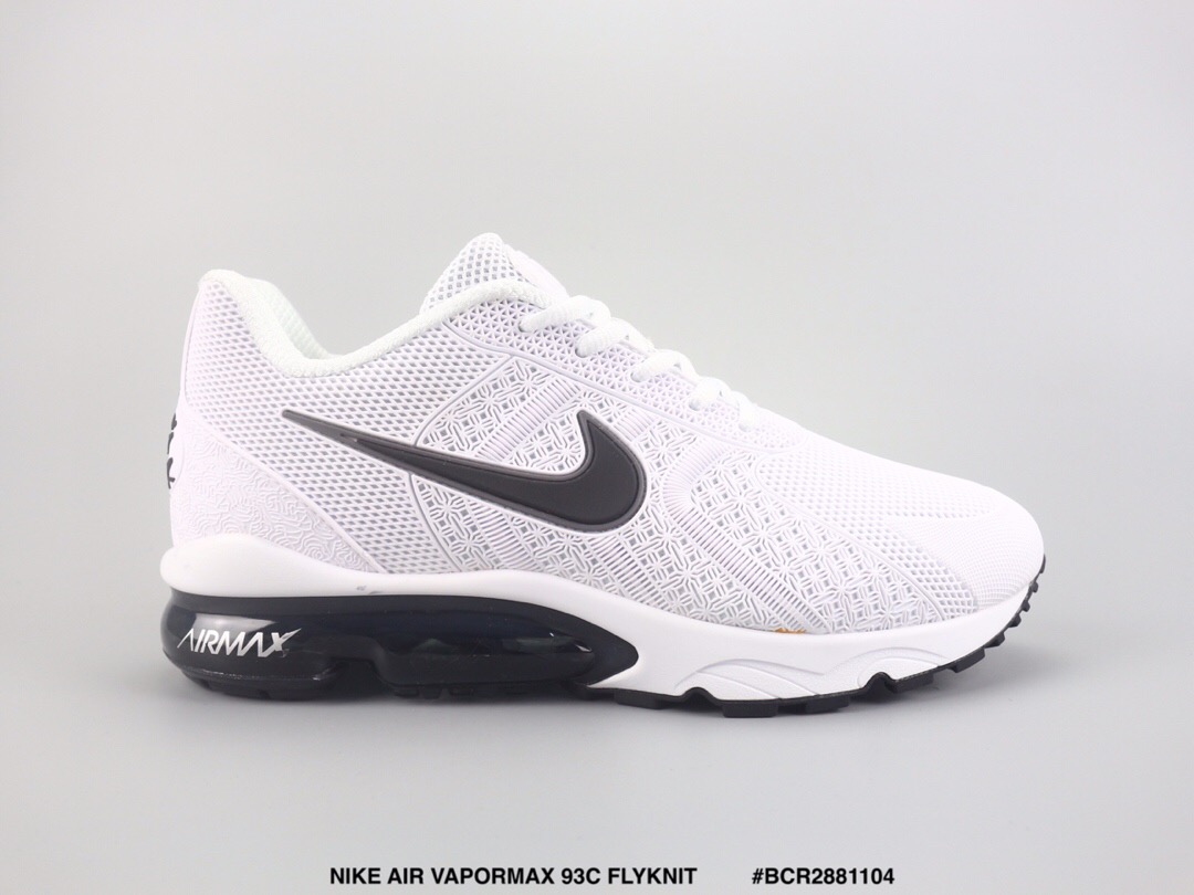 Nike Air Max VaporMax 93c Flyknit White Shoes