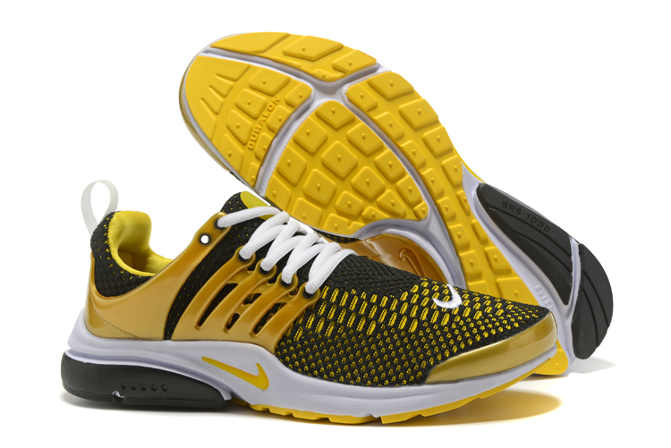 Nike Air Presto Flyknit Ultra Low Black Yellow Shoes