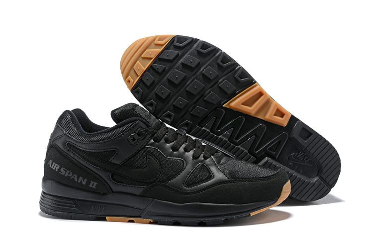 Nike Air Span II All Black Shoes