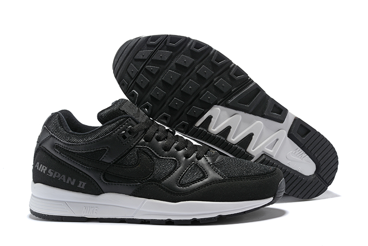Nike Air Span II Black White Shoes