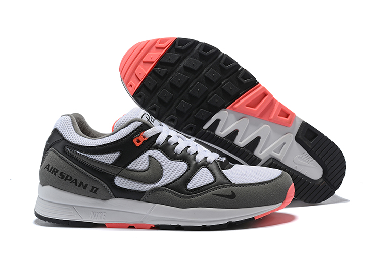 Nike Air Span II Black White Red Shoes