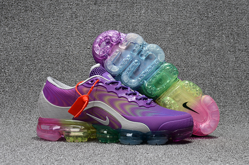 Women Nike Air VaporMax 2018 5 Purple Silver Shoes