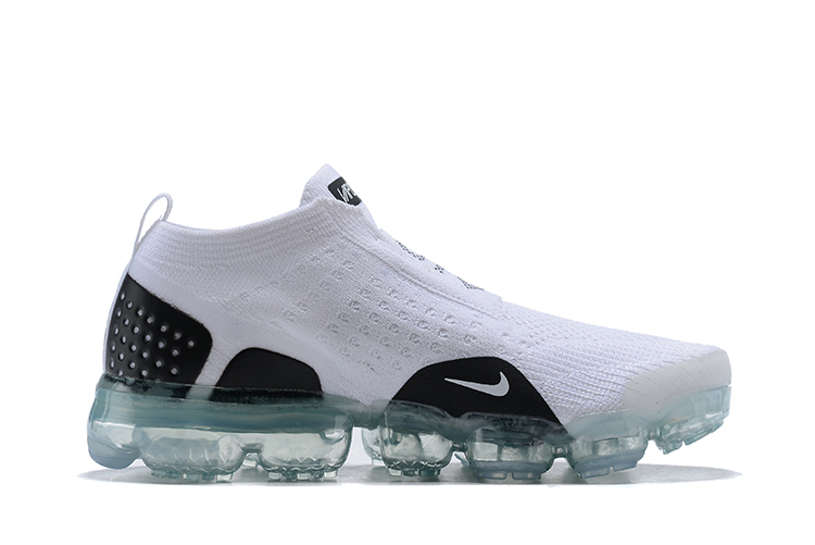 Women Nike Air VaporMax FK Moc White Black Shoes