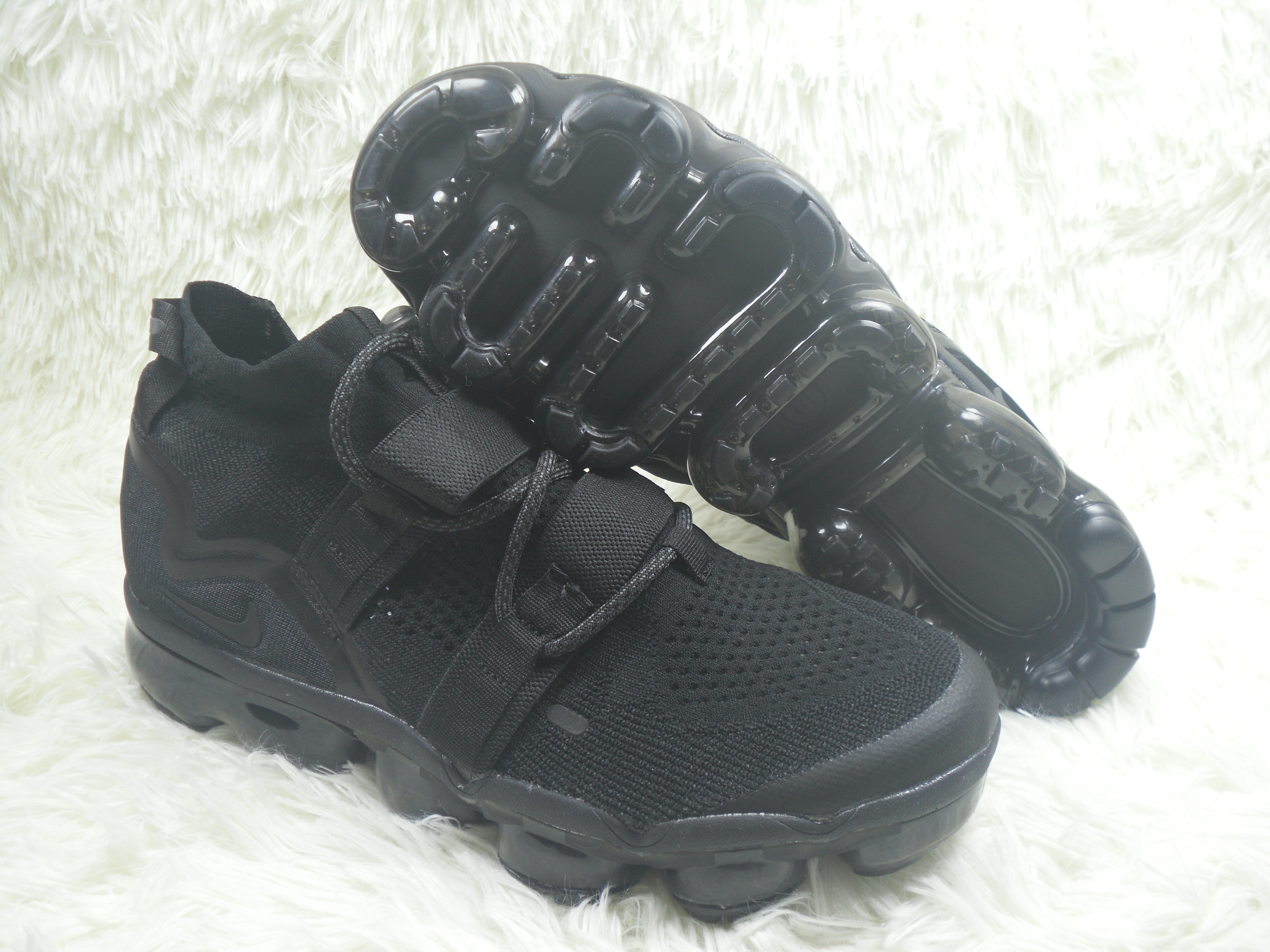 Nike Air VaporMax FK Utility All Black Shoes