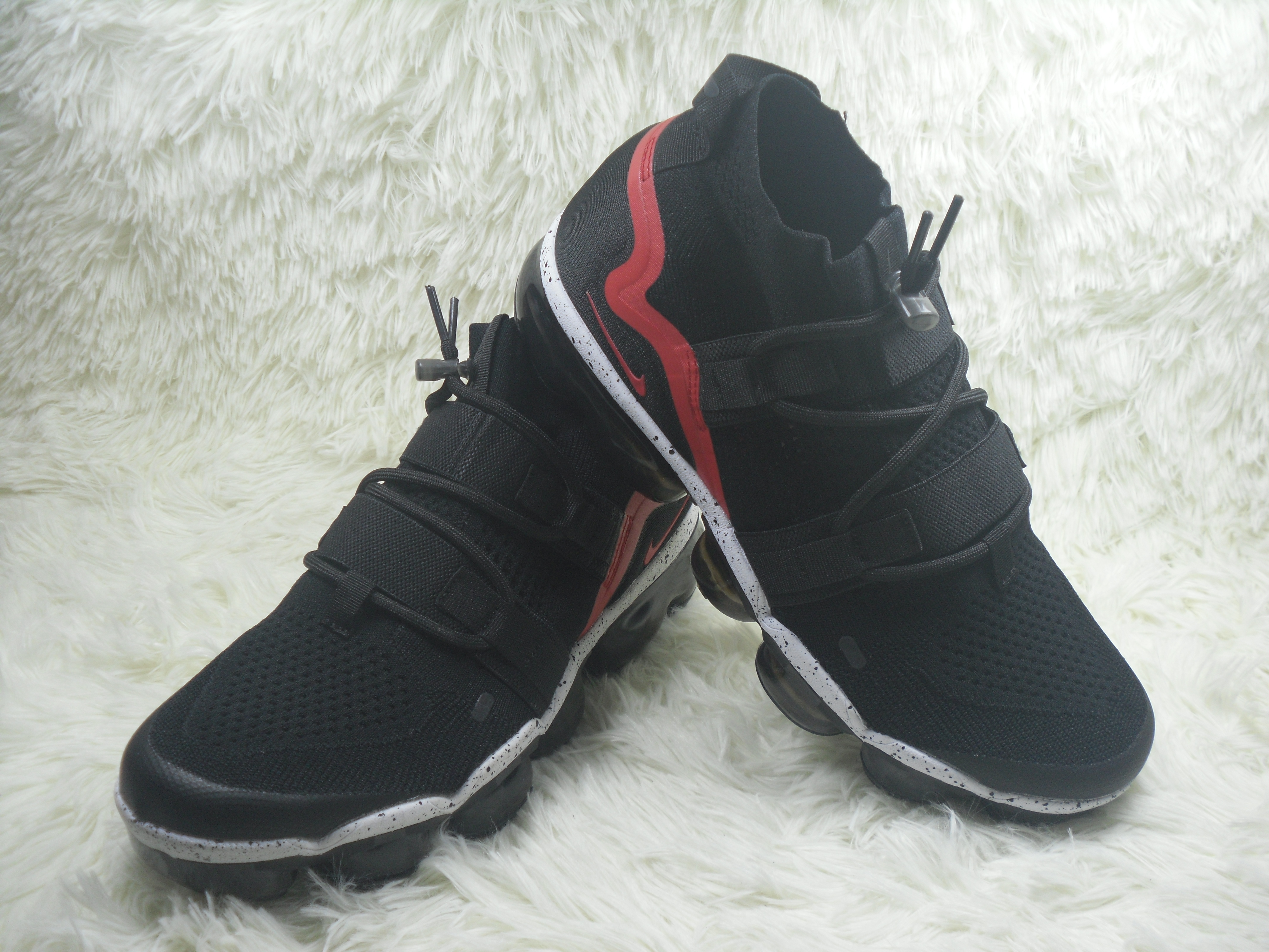 Nike Air VaporMax FK Utility Black Red Shoes