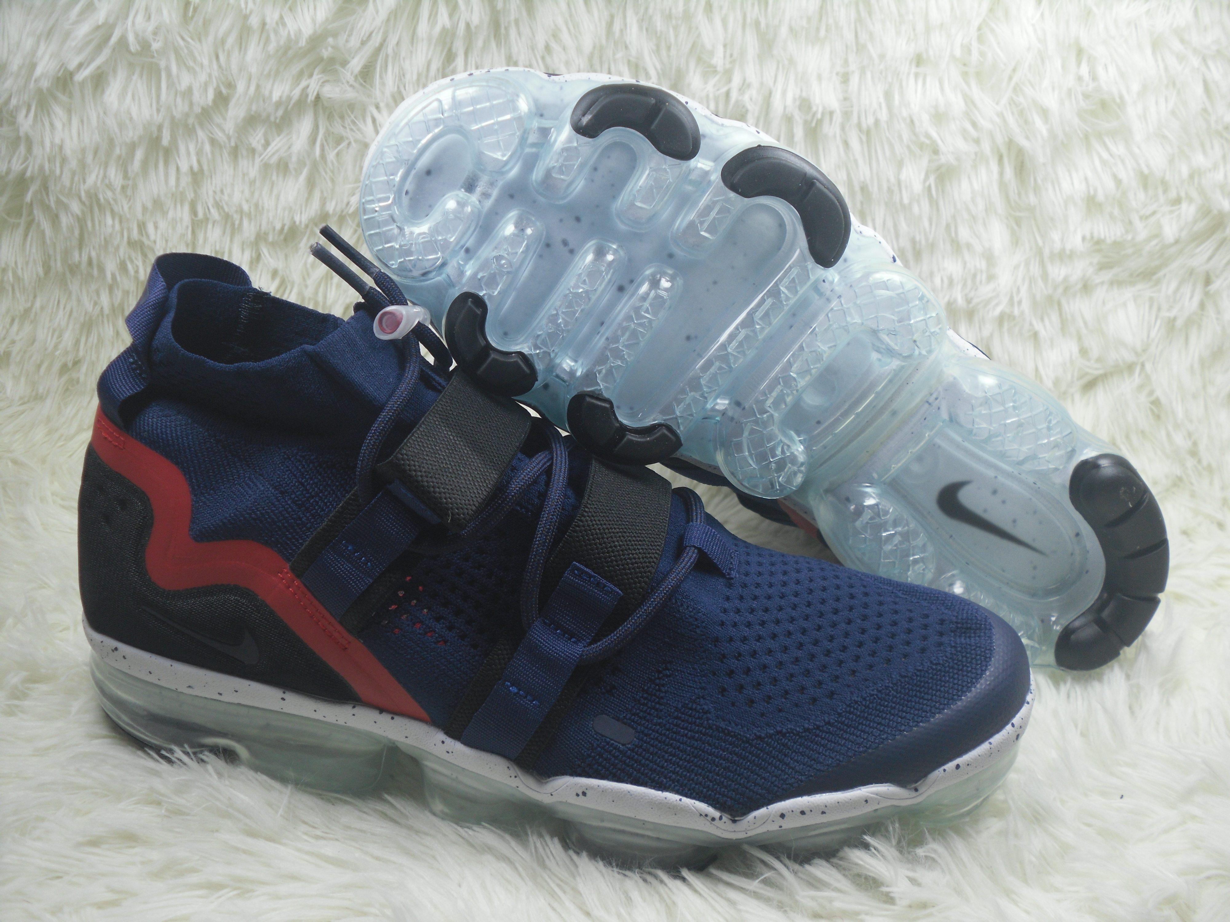 Nike Air VaporMax FK Utility Blue Red Shoes