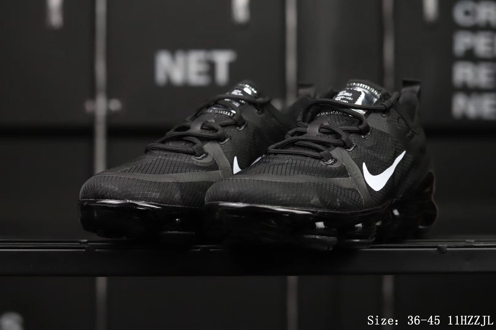 Nike Air Vapormax 2019 Mesh Black Shoes For Women