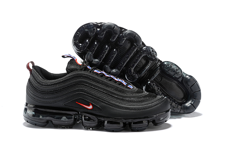 Nike Air Vapormax 97 Black Blue Red Shoes