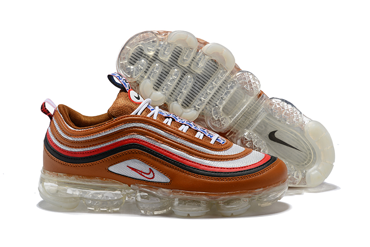 Nike Air Vapormax 97 Brown White Shoes