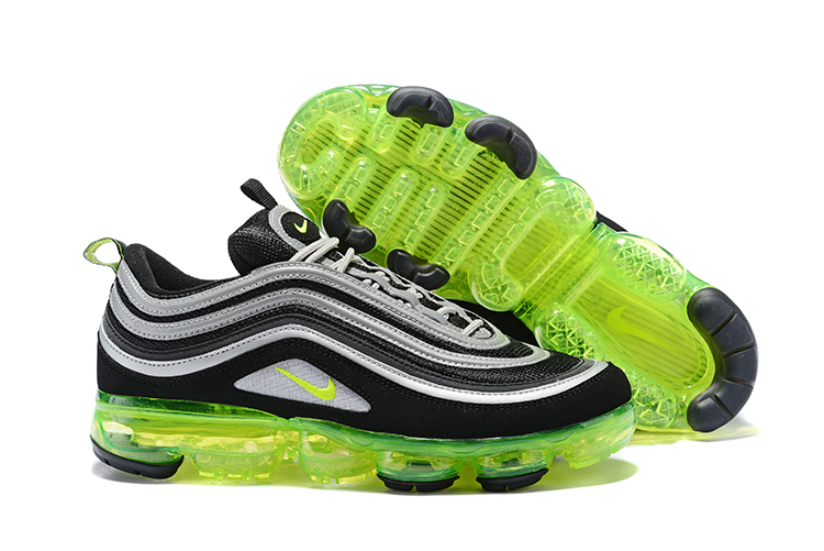 Nike Air Vapormax 97 Neno Black Grey Green Shoes