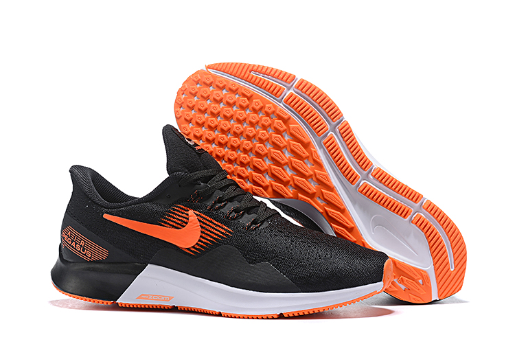 Nike Air Zoom Pegasus 35 Black Orange White Shoes