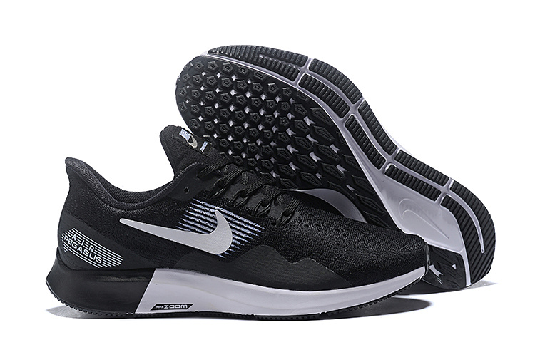 Nike Air Zoom Pegasus 35 Black White Shoes