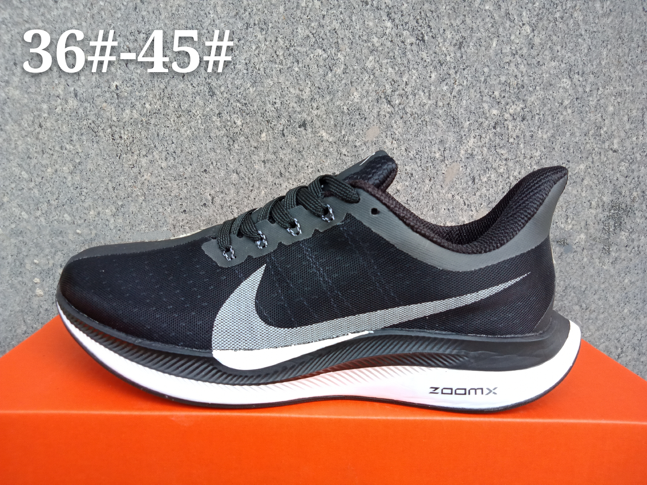 Women Nike Air Zoom Pegasus 35X Deep Blue Grey Shoes