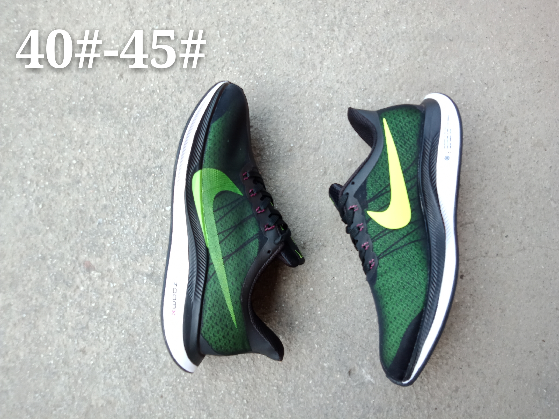 Nike Air Zoom Pegasus 35X Grass Green Black Gold Shoes