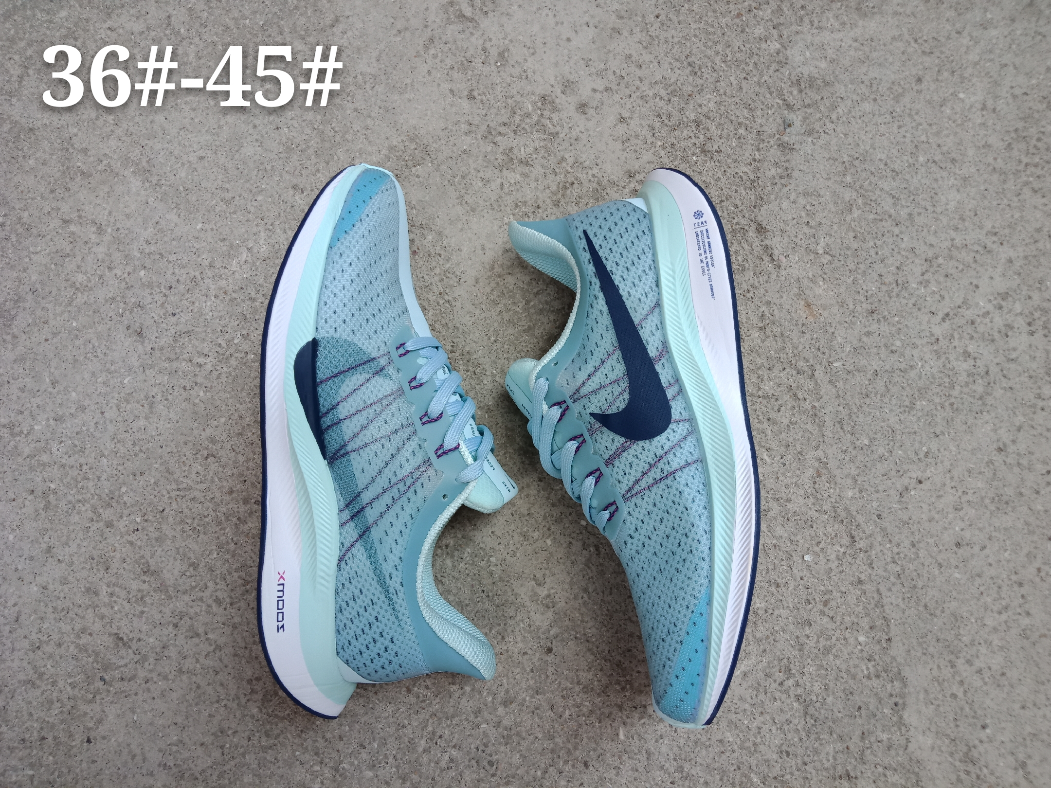 Nike Air Zoom Pegasus 35X Jade Blue Shoes