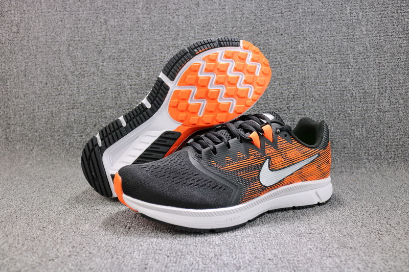 Nike Air Zoom Span Black Orange White Shoes