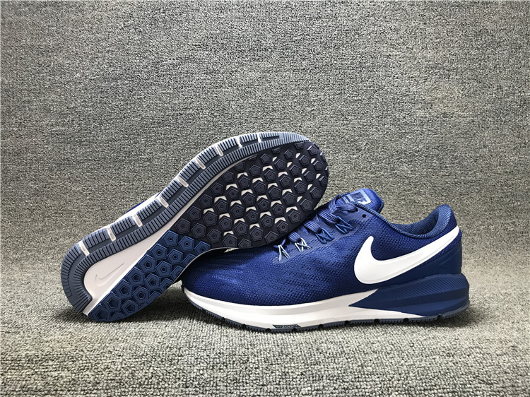 Nike Air Zoom Structure 22 Sea Blue White Shoes