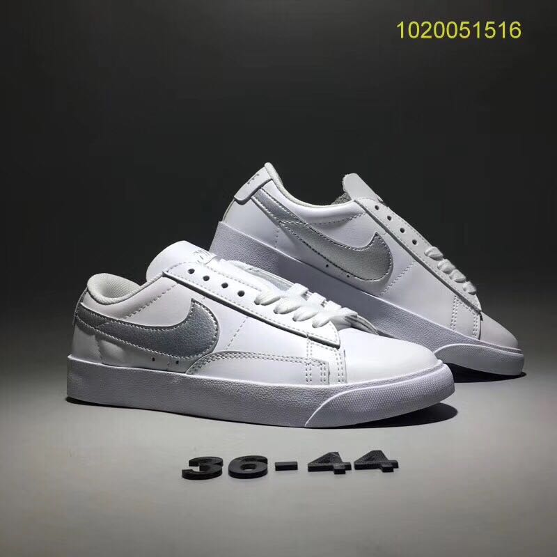 Nike Blazer 2.0 All White Shoes