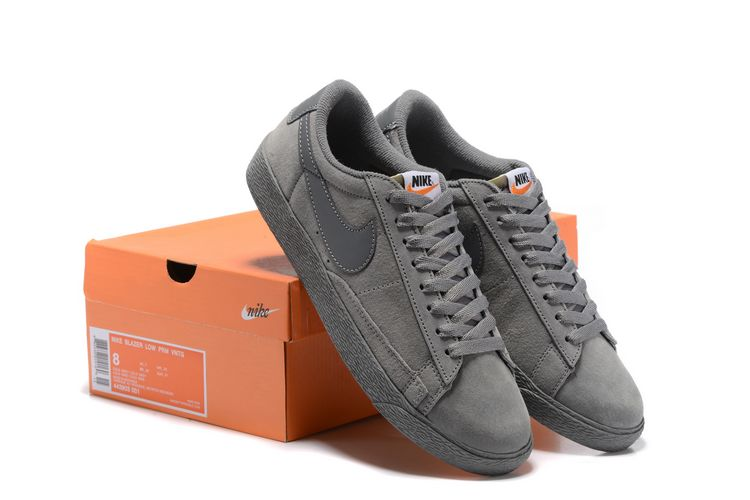 Nike Blazer Low PRM VNTG All Grey Shoes