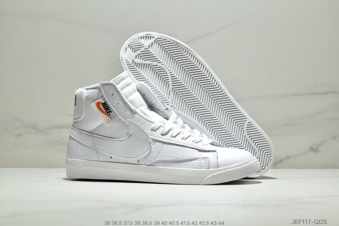 Nike Blazer Mid Redel All White Shoes