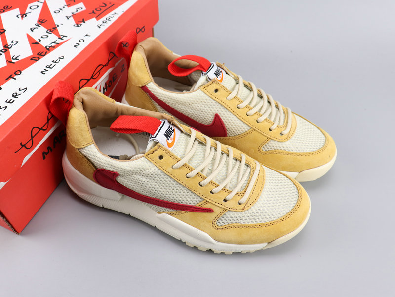 Nike City LOOP NASA Yellow White Red Shoes