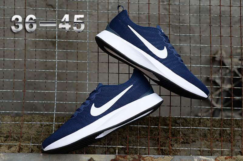 Nike Dualtone Racer Blue White Shoes