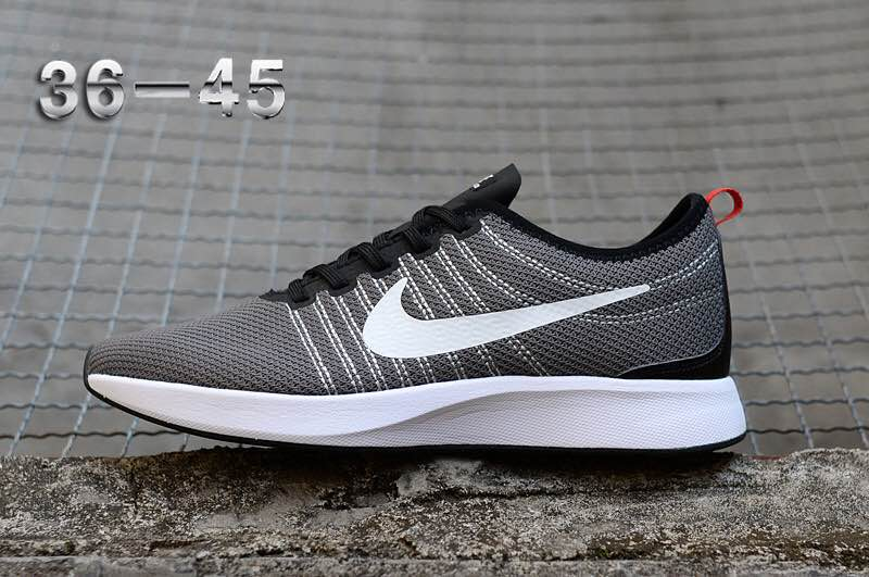 Nike Dualtone Racer Grey Black White Shoes