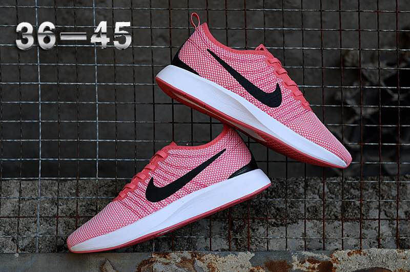 Nike Dualtone Racer Pink Black White Shoes