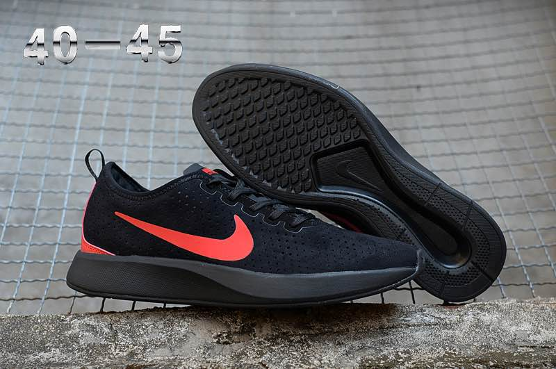 Nike Dualtone Racer Premium Black Red Shoes
