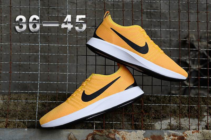 Nike Dualtone Racer Yellow Black Shoes