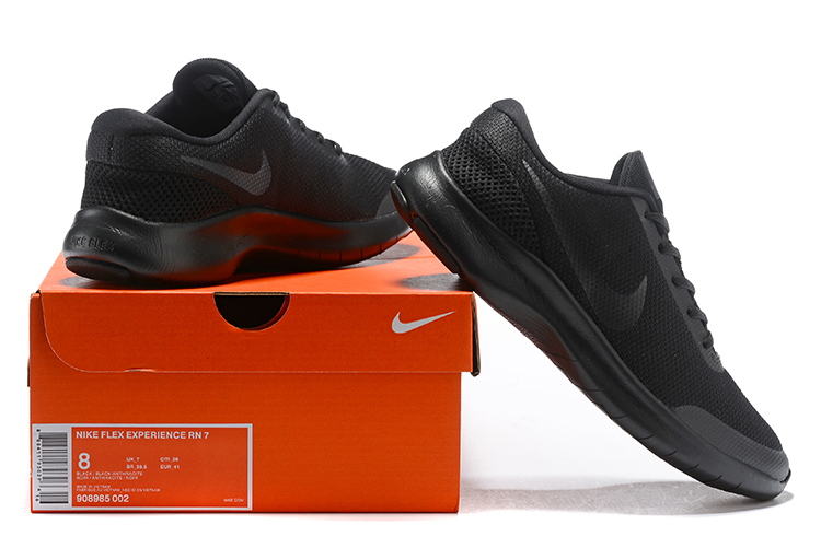 Nike Flex Experience RN7 All Black Shoes