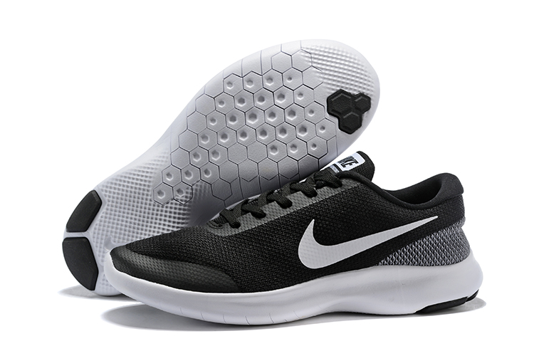 Nike Flex Experience RN7 Black Grey White Shoes