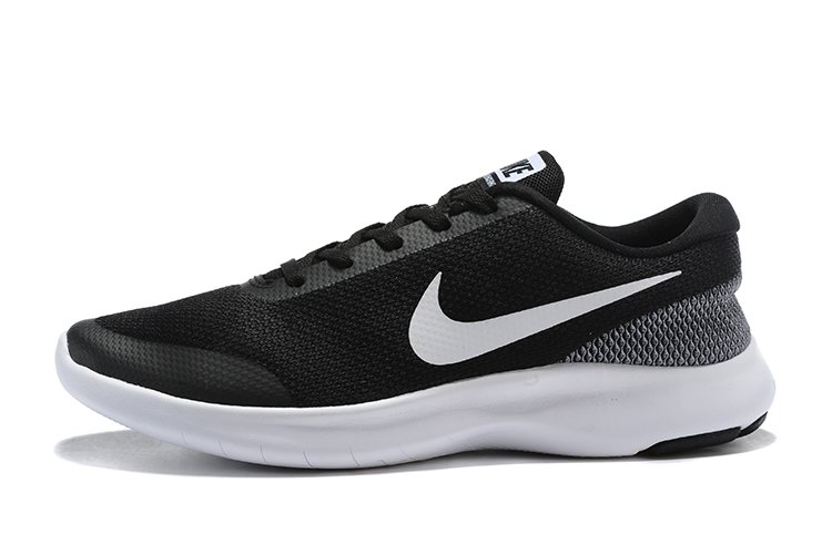 Nike Flex Experience RN7 Black White Running Shoes