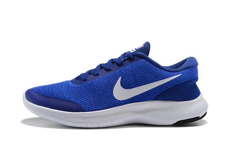 Nike Flex Experience RN7 Blue White Running Shoes