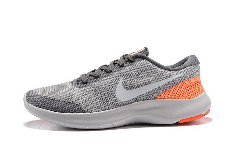 Nike Flex Experience RN7 Grey Orange Running Shoes