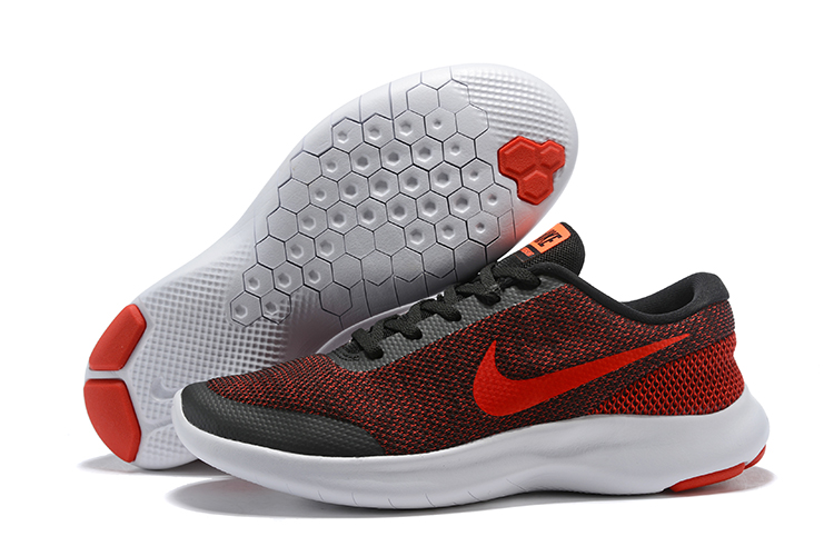 Nike Flex Experience RN7 Red Black White Shoes