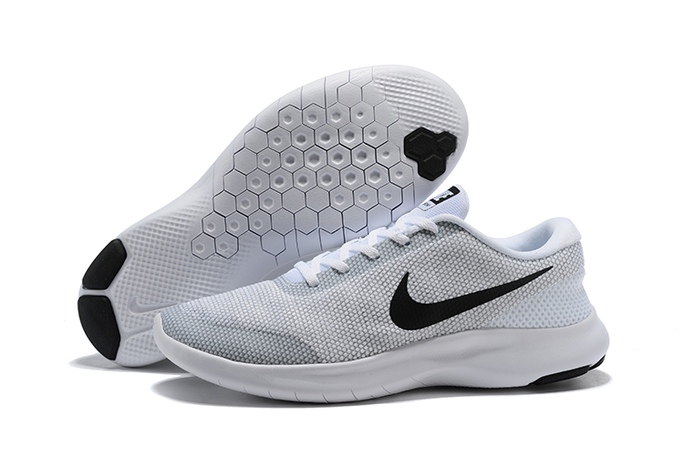 Nike Flex Experience RN7 White Black Shoes
