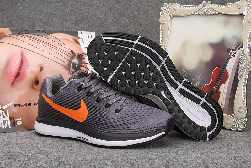 Nike Flyknit Lunar 2 iD Grey Orange Shoes