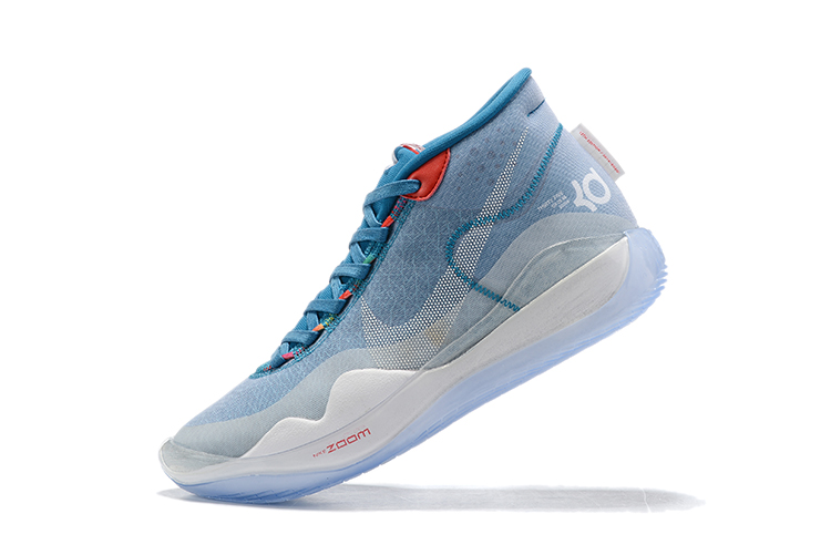 2019 Nike KD 12 Shoes Baby Blue White