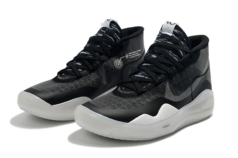 2019 Nike KD 12 Black Grey White
