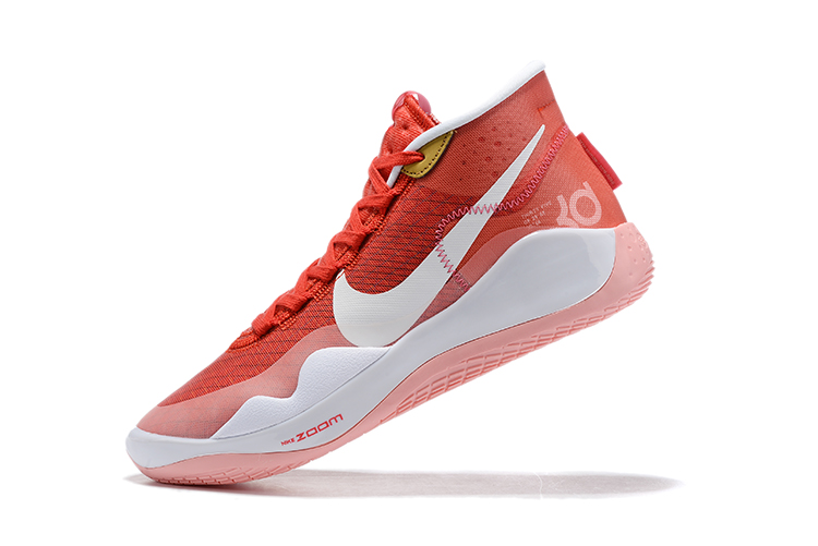 2019 Nike KD 12 Shoes Redding Orange White