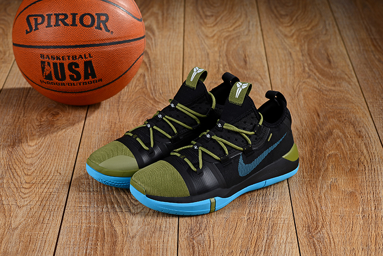 2019 Nike Kobe A.D. E.P Black Army Green Blue