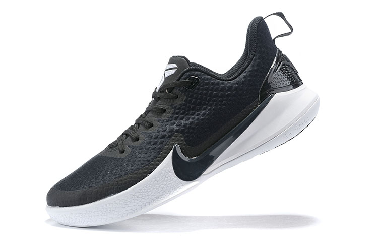Real Nike Kobe Mamba Focus Black White