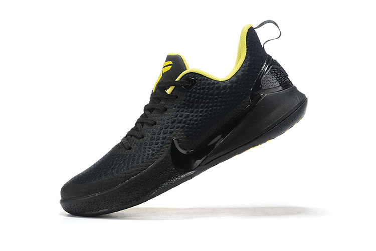 Real Nike Kobe Mamba Focus Black Yellow