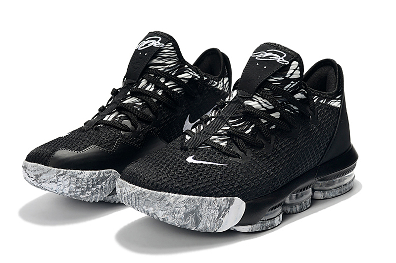2019 Nike LeBron 16 Low Black Grey