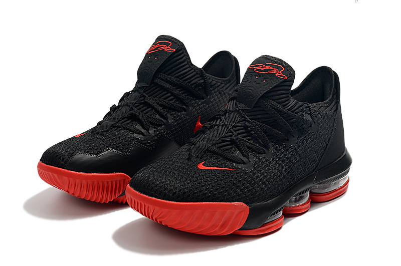 2019 Nike LeBron 16 Low Black Red