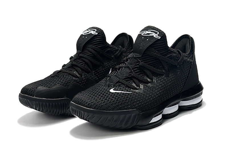 2019 Nike LeBron 16 Low Black White