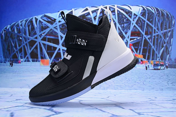 2019 Nike LeBron Soldier 13 Black White