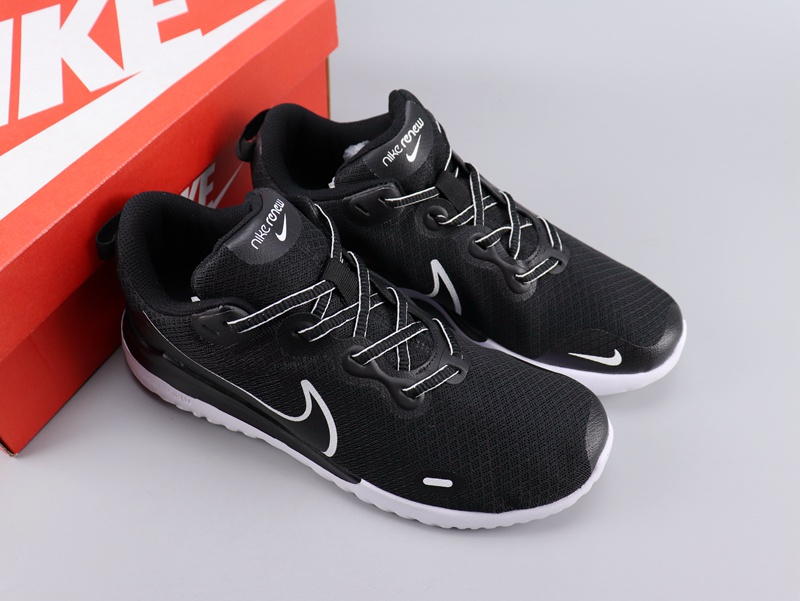 Nike Legned React Black White Logo Shoes